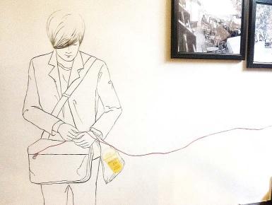 张东健简笔画