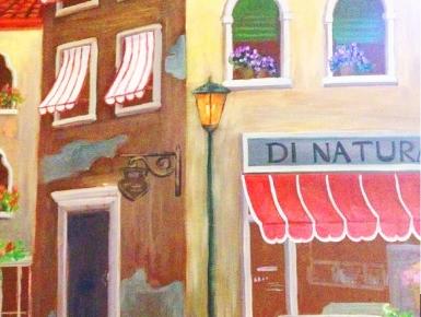 威尼斯风景墙绘细节2
