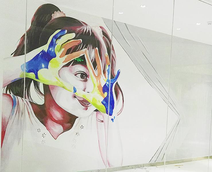 你知道墙面彩绘的作画步骤及注意事项吗